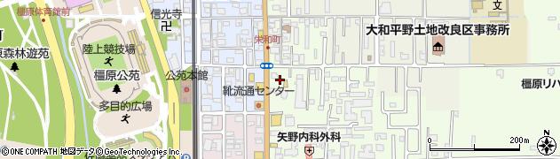 奈良県橿原市栄和町41周辺の地図