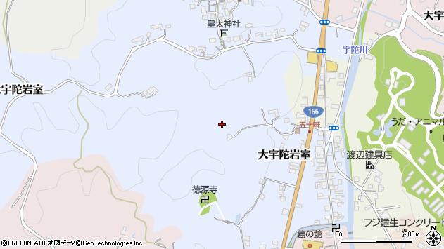 〒633-2116 奈良県宇陀市大宇陀岩室の地図