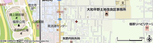 奈良県橿原市栄和町48周辺の地図