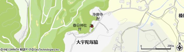 浄慶寺周辺の地図