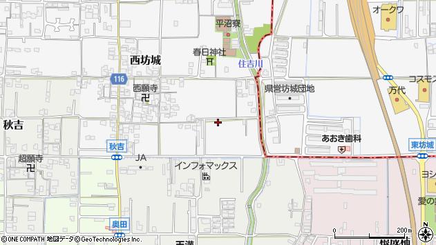 〒635-0058 奈良県大和高田市西坊城の地図