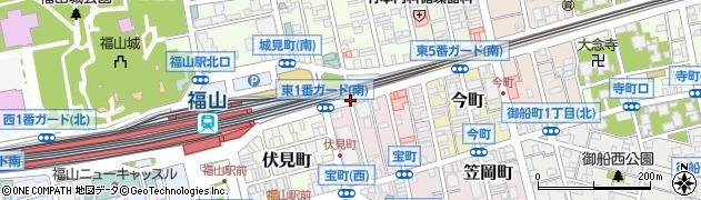 東2番ガード(南)周辺の地図