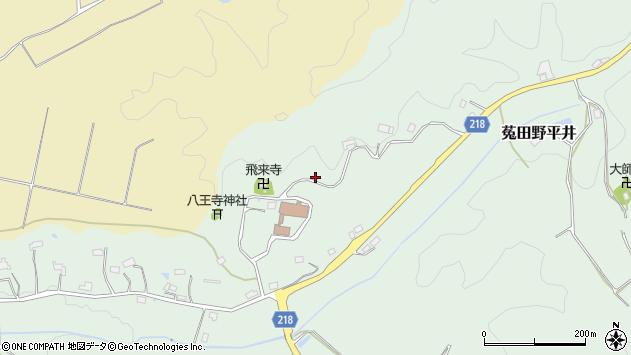 〒633-2201 奈良県宇陀市菟田野平井の地図