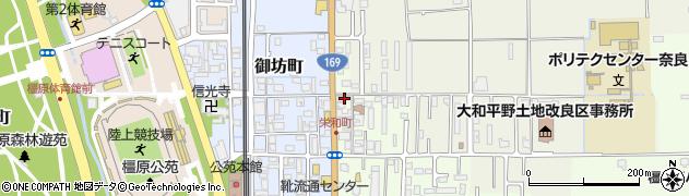 奈良県橿原市栄和町93周辺の地図
