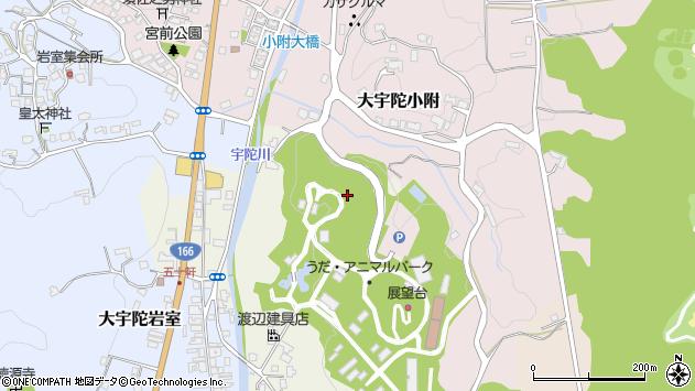 〒633-2113 奈良県宇陀市大宇陀下竹の地図