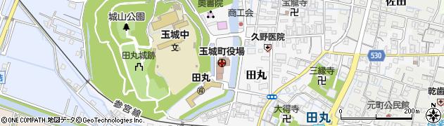 三重県度会郡玉城町周辺の地図