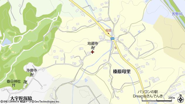 〒633-0236 奈良県宇陀市榛原母里の地図