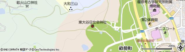 東大谷日女命神社周辺の地図