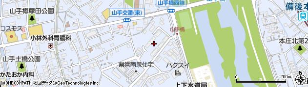 南泉住宅周辺の地図