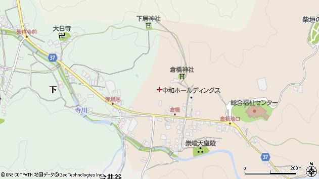 〒633-0021 奈良県桜井市倉橋の地図