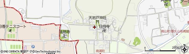 奈良県橿原市南浦町周辺の地図