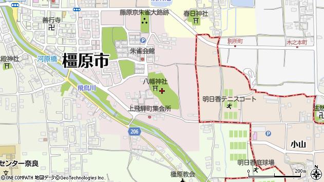 〒634-0031 奈良県橿原市上飛騨町の地図