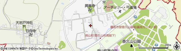 奈良県橿原市戒外町周辺の地図