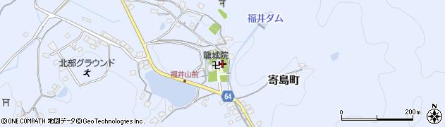 福井山龍城院周辺の地図