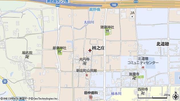 〒639-2141 奈良県葛城市弁之庄の地図