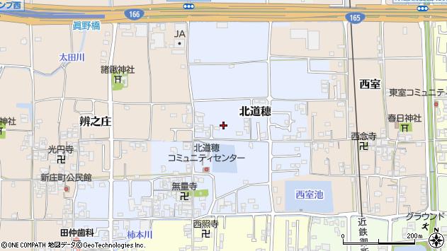 〒639-2142 奈良県葛城市北道穂の地図