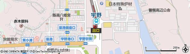 岡山県玉野市周辺の地図