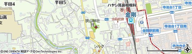 狭山神社周辺の地図