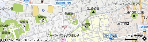 長正寺周辺の地図