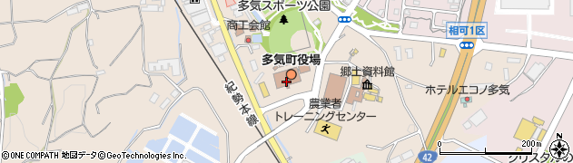 三重県多気郡多気町周辺の地図
