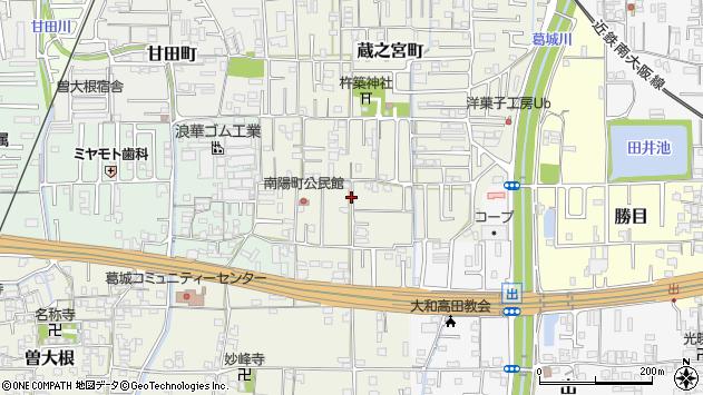 〒635-0057 奈良県大和高田市南陽町の地図