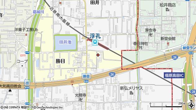 〒635-0042 奈良県大和高田市勝目の地図
