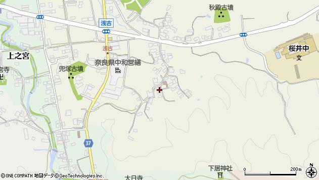 〒633-0052 奈良県桜井市浅古の地図