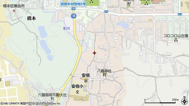 〒633-0048 奈良県桜井市生田の地図