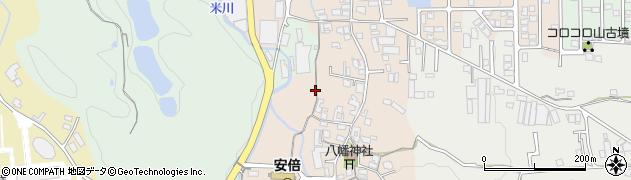 奈良県桜井市生田周辺の地図