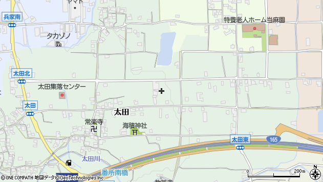 〒639-2153 奈良県葛城市太田の地図