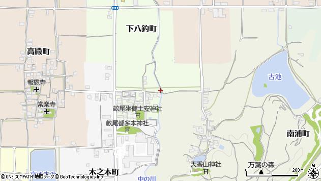 〒634-0029 奈良県橿原市下八釣町の地図