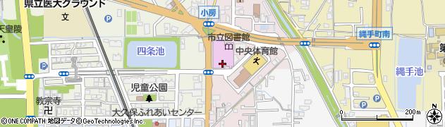 奈良県橿原市小房町周辺の地図