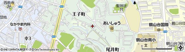 大阪府和泉市王子町周辺の地図