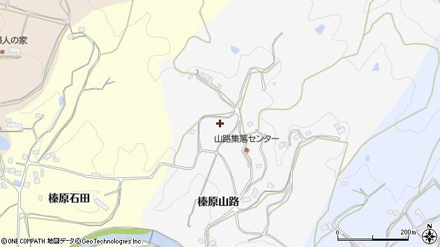 〒633-0224 奈良県宇陀市榛原山路の地図
