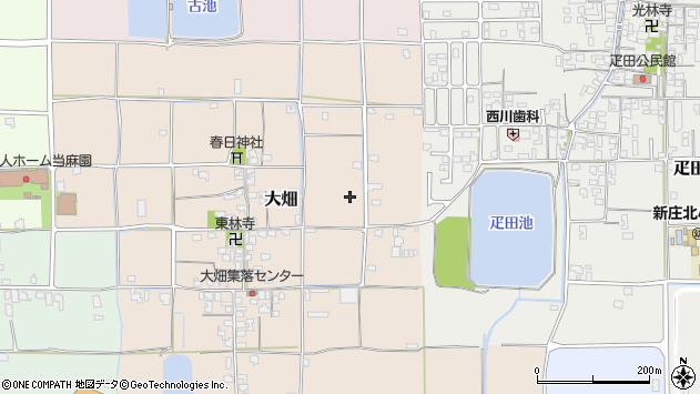 〒639-2152 奈良県葛城市大畑の地図