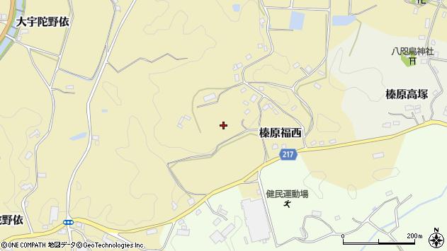 〒633-0233 奈良県宇陀市榛原福西の地図