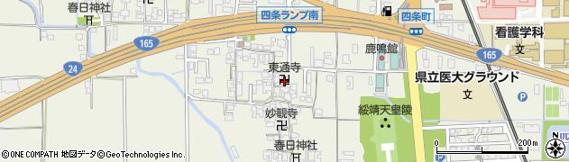 東通寺周辺の地図