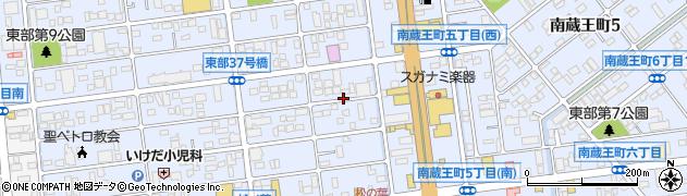広島県福山市南蔵王町周辺の地図