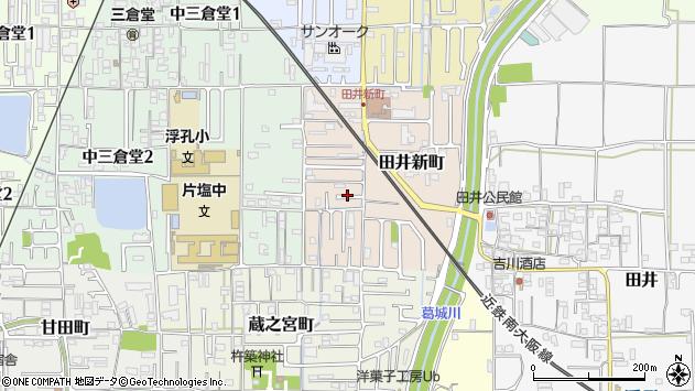 〒635-0047 奈良県大和高田市田井新町の地図