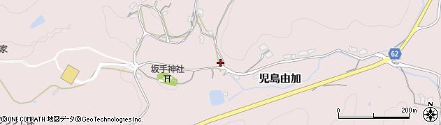 岡山県倉敷市児島由加周辺の地図