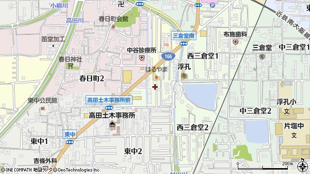 〒635-0064 奈良県大和高田市栄町の地図