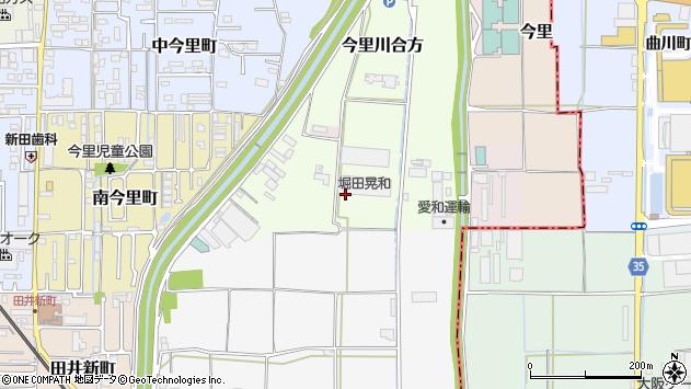 〒635-0032 奈良県大和高田市今里川合方の地図