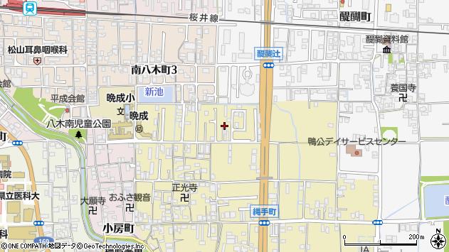 〒634-0073 奈良県橿原市縄手町の地図