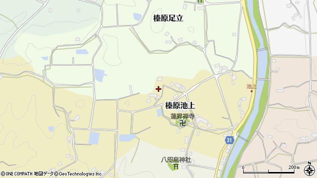 〒633-0232 奈良県宇陀市榛原池上の地図