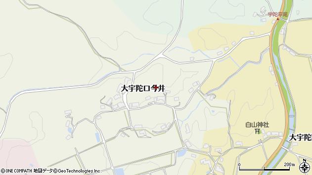 〒633-2104 奈良県宇陀市大宇陀口今井の地図