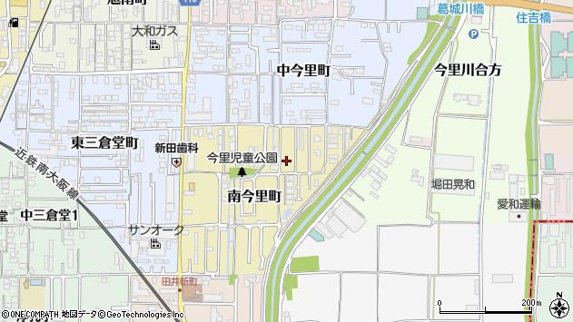 〒635-0033 奈良県大和高田市南今里町の地図