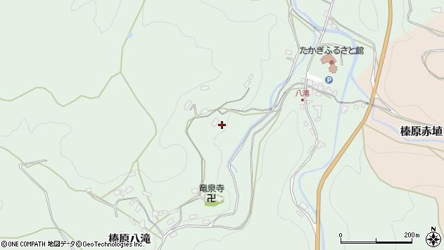 〒633-0216 奈良県宇陀市榛原八滝の地図