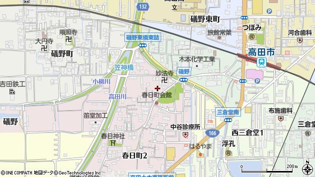 〒635-0067 奈良県大和高田市春日町の地図