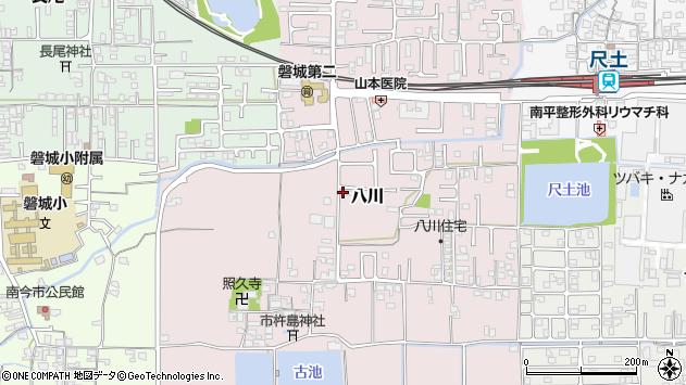 〒639-2163 奈良県葛城市八川の地図