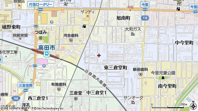 〒635-0034 奈良県大和高田市東三倉堂町の地図